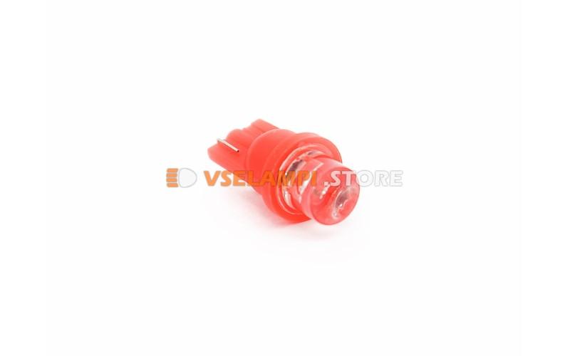 Светодиод 12v T10 1LED - опция красный
