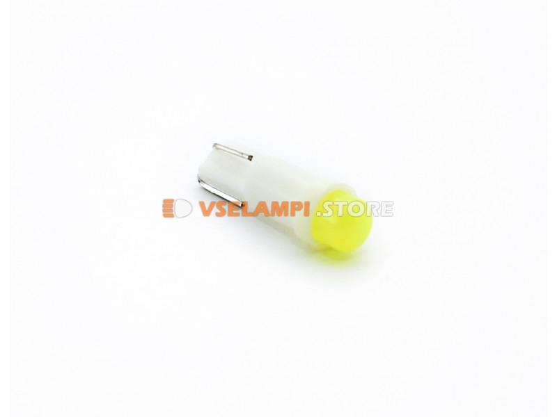 Светодиод 24v T5 COB - цвет свечения зелёный