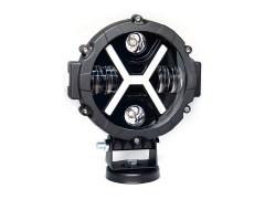 Прожектор 9-32V 50W 6SMD круглая 175x175mm ближний, ДХО
