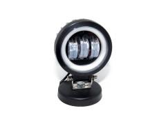 Прожектор 9-32V 30W 3SMD круглая 95x95mm ближний, ДХО
