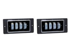 LED фары противотуманные ВАЗ-2110, комплект 2 шт.