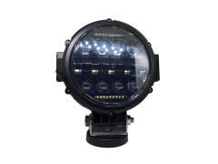 Прожектор 9-32V 144W 48SMD круглая, линза, 170x170mm комбинированный