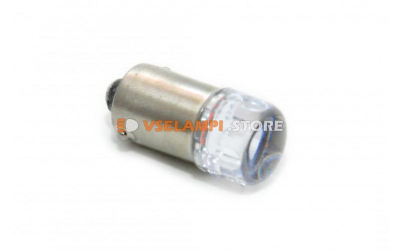 Светодиод 24vT8 3SMD 3014 линза - цвет свечения белый