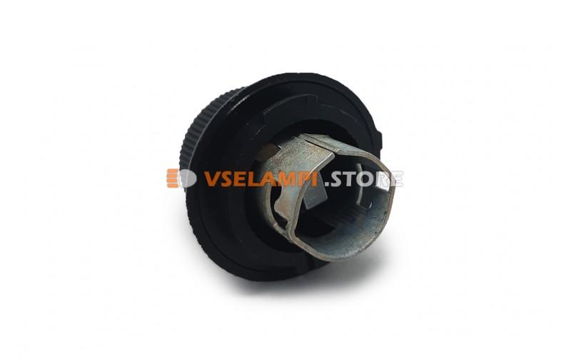 Патрон указателей поворота ВАЗ 2105-2109 ( под P21W ) черный