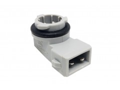 Патрон под лампу W5W (Т10 тип 1) Г-обр., пластик TM Nord YADA
