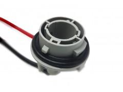 Патрон под лампу P21W (1156 одноконт.) с проводами, пластик TM Nord YADA