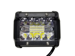 Прожектор квадратный 9-30V 60W 20SMD 96x75mm дальний