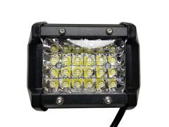 Прожектор квадратный 9-30V 72W 24SMD 96x75mm дальний