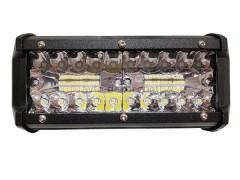 Прожектор прямоугольный 9-30V 120W 40SMD 165x75mm дальний