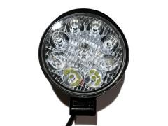 Прожектор круглый 9-30V 27W 9SMD 85x85mm мини