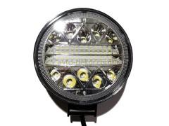 Прожектор круглый 9-30V 117W 39SMD 110x110mm комбинированный