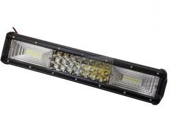 Прожектор прямоугольный 9-30V 216W 72SMD 375x75mm комбинированный