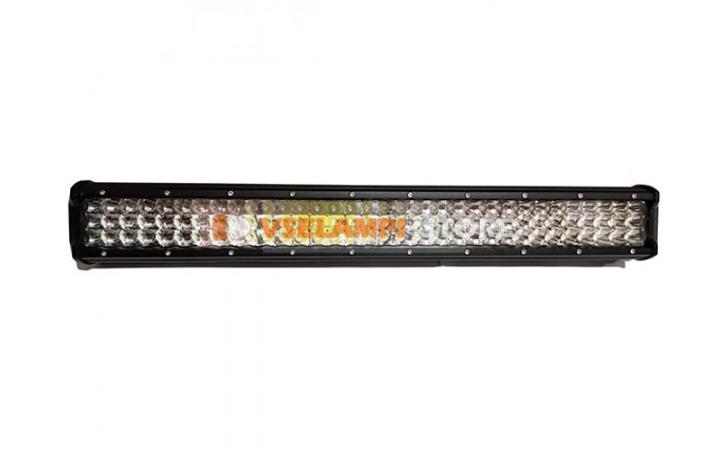 Прожектор прямоугольный 9-30V 288W 108SMD 585x75mm дальний