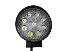 Прожектор круглый 9-30V 27W 9SMD 110x110mm