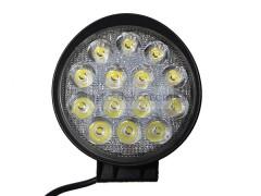 Прожектор круглый 9-30V 42W 14SMD 105x105mm