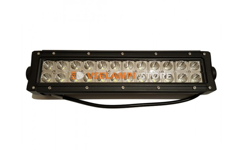 Прожектор боковой кронштейн 9-30V 72W 24SMD 340x81mm - опция дальний