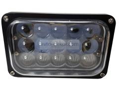 Прожектор двух режимный 9-30V 45W 15SMD 165x110mm дальний / ближний