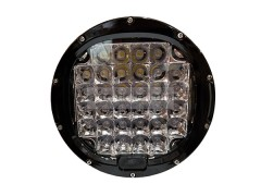 Прожектор круглый 9-30V 96W 32SMD 220x220mm дальний