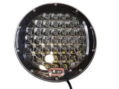 Прожектор круглый 9-30V 185W 62SMD 220x220mm дальний