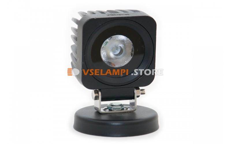 Прожектор 9-32V 10W 65x65mm ближний
