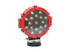 Прожектор 9-32V 51W 17SMD круглая 160x160mm дальний