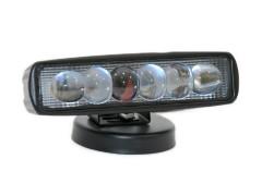 Прожектор 9-32V 18W 6SMD 160x45 с линзой ближний