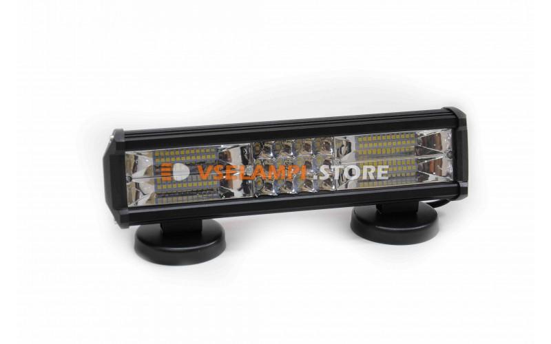 Прожектор 9-32V 60SMD 180W 310x75mm комбинированный
