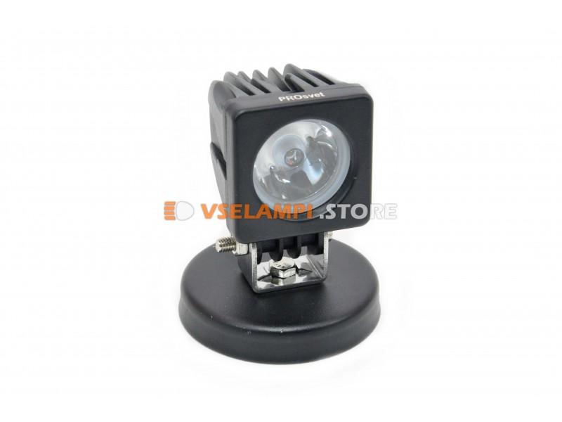 Прожектор 9-32V 10W 1SMD 50x50mm ближний