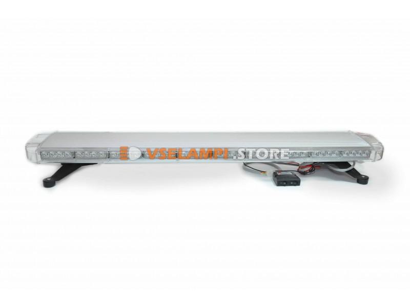 Стробоскопы 88SMD 12-24V 264W 1200x250mm оранжевый