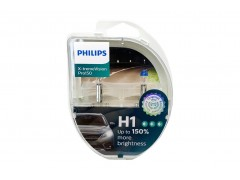 Галогенные лампы PHILIPS X-treme Vision PRO150 +150% комплект 2шт.