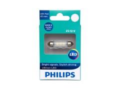 Светодиод PHILIPS Ultinon LED 12v T11x43 6000k (1шт.)