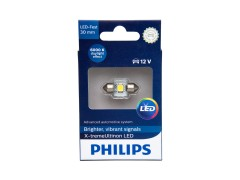Светодиод PHILIPS X-tremeUltinon LED 12v T11x30 6000k (1шт.)