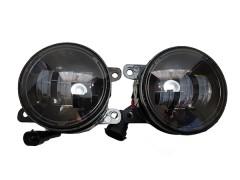 LED фары противотуманные AVTODECOR на LADA Vesta, 30W, 2 шт.
