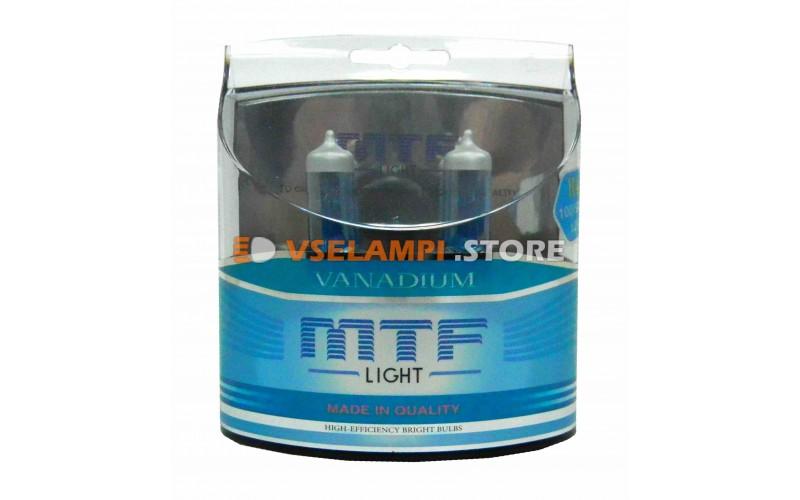 Галогенные лампы MTF - Vanadium комплект 2шт. - цоколь H4 100/90