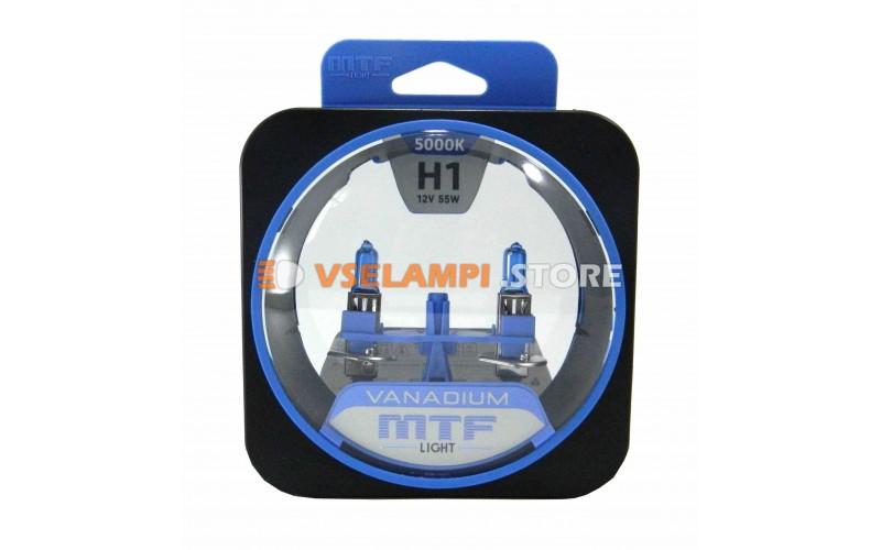 Галогенные лампы MTF - Vanadium комплект 2шт. - цоколь H1