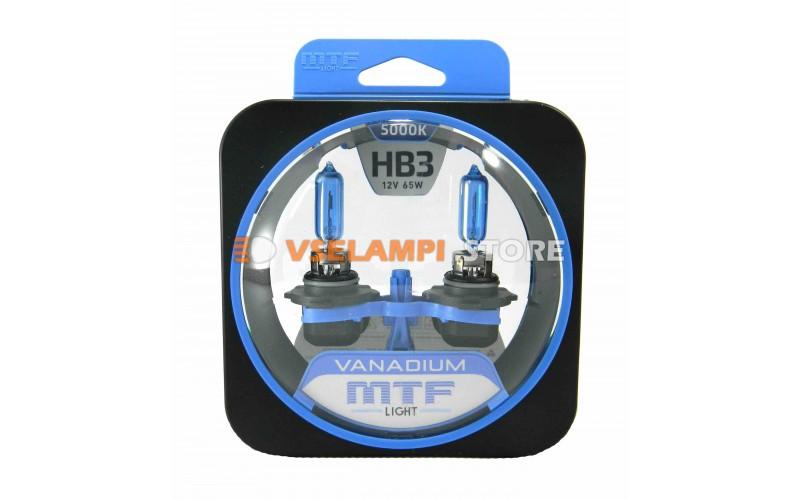 Галогенные лампы MTF - Vanadium комплект 2шт. - цоколь HB3