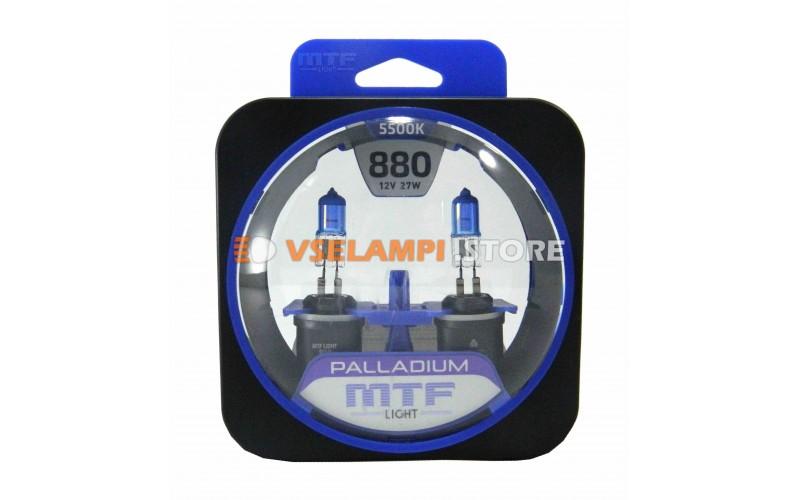 Галогенные лампы MTF - Palladium комплект 2шт. - цоколь H27/1