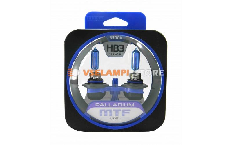 Галогенные лампы MTF - Palladium комплект 2шт. - цоколь HB3
