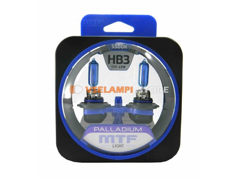 Галогенные лампы MTF - Palladium комплект 2шт. - цоколь H4