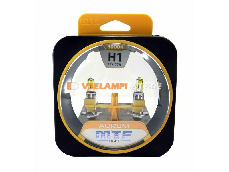 Галогенные лампы MTF - Aurum комплект 2шт. - цоколь H11