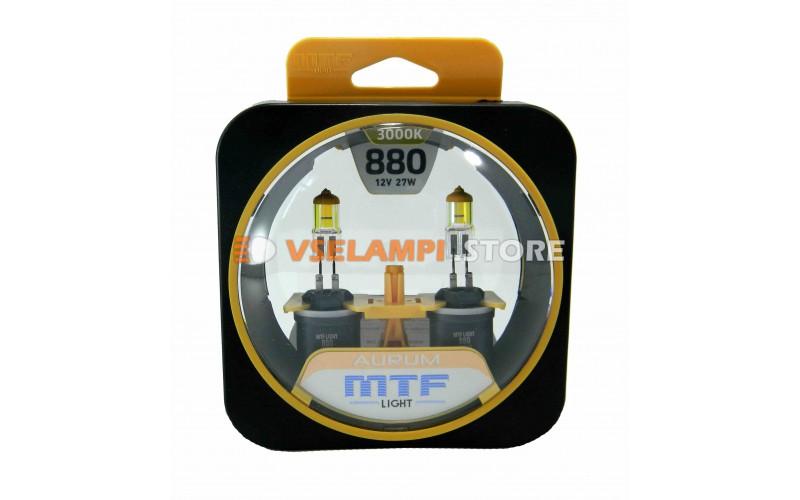 Галогенные лампы MTF - Aurum комплект 2шт. - цоколь H27/1