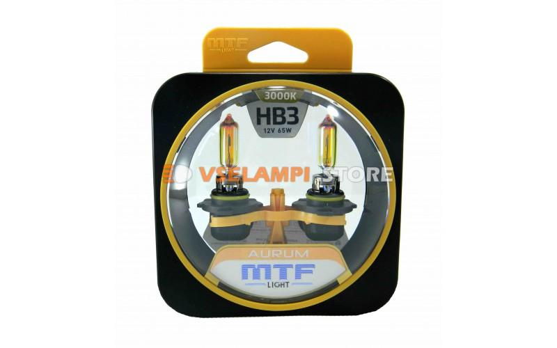 Галогенные лампы MTF - Aurum комплект 2шт. - цоколь HB3