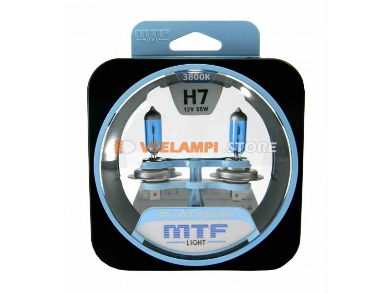 Галогенные лампы MTF - Platinum комплект 2шт. - цоколь H27/2