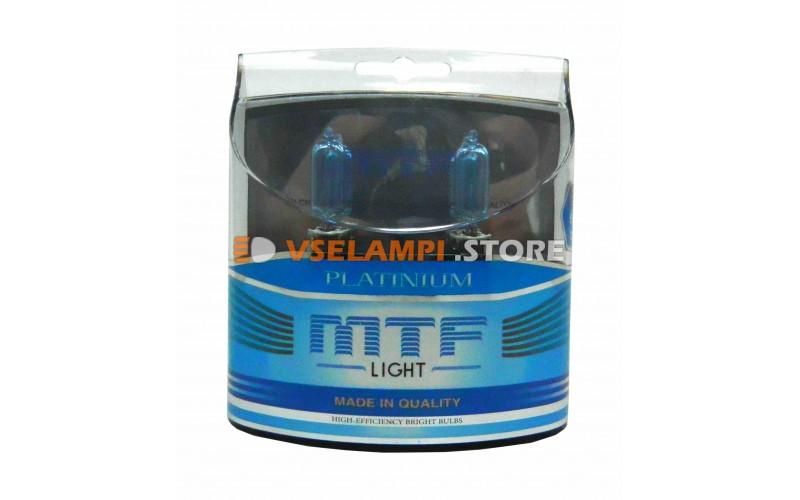 Галогенные лампы MTF - Platinum комплект 2шт. - цоколь HB3