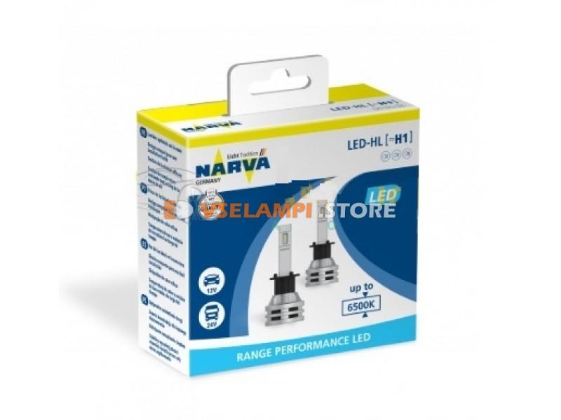 Сверх яркие Narva Range Performance LED комплект 2шт. - цоколь H7