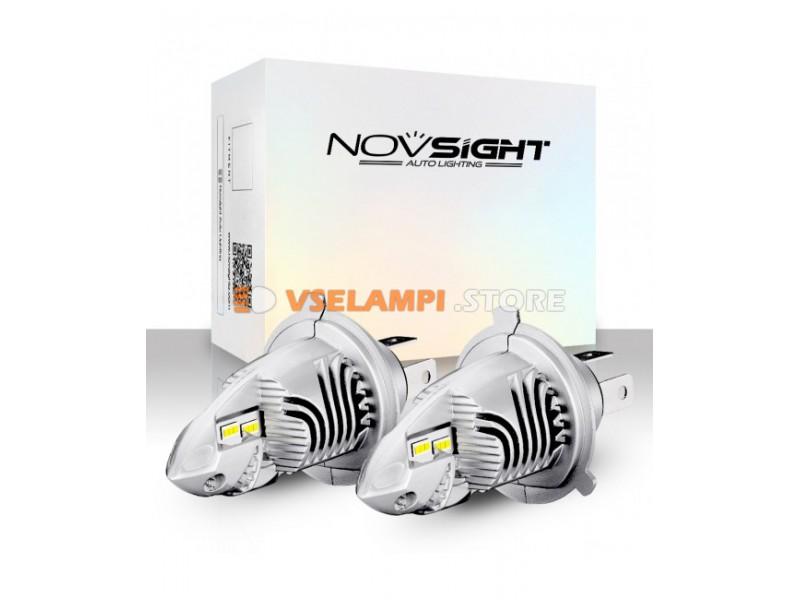 Сверх яркие светодиоды Novsight F10 6000k, комплект 2шт.