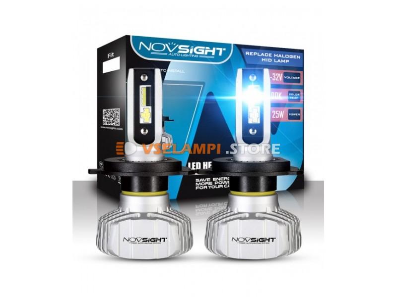 Сверх яркие светодиоды Novsight N15 6500k, комплект 2шт. - цоколь HB5