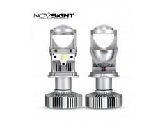 Сверх яркие светодиоды Novsight N26 H4 6500k, комплект 2шт.