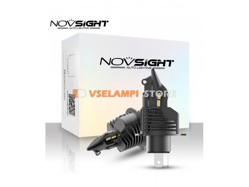 Сверх яркие светодиоды Novsight N20B 6500k, комплект 2шт. - цоколь HB3