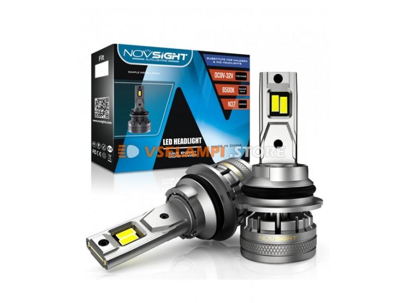 Сверх яркие светодиоды Novsight N37 6500k, комплект 2шт. - цоколь HB1